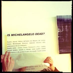 foto Is Michelangelo dead