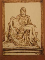 Marilena Alboni, pirografia