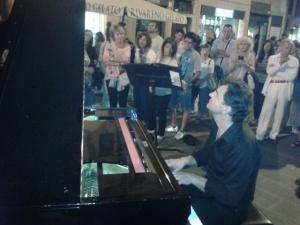 Pianista fuori posto