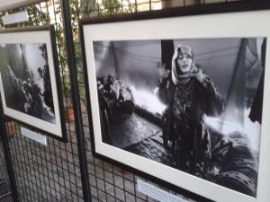 Mostra rifugiati Siria