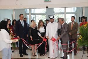 Inauguraz. mostra Carletti alla Sharjah University, settembre '14