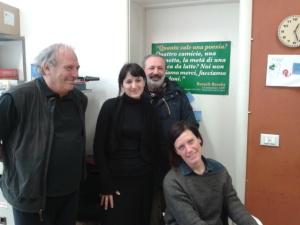 Horacio Czertok, Greta Marzano, Franco Campioni e Natasha Czertok