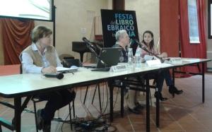 Da sinistra, Alessandra Veronese, Anna Esposito e Mafalda Toniazzi