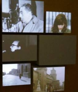 L'installazione video dedicata ad Antonioni e a Ferrara