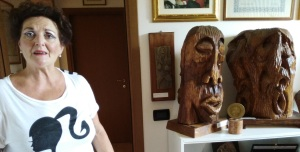 Franca Scapoli + alcune sculture di Penzo