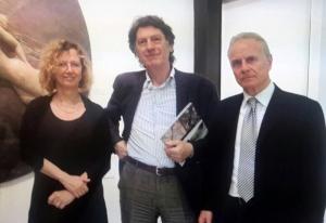 Flavia Franceschini, Gianfranco Goberti, Carlo Ciccarelli