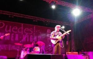 Bobby Solo durante il concerto