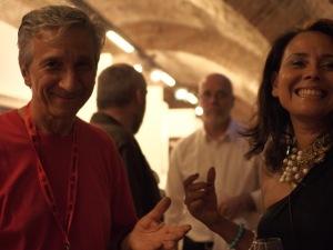 Stefano Bottoni e Viviana Puello