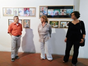 Paolo Volta, Lucia Boni e Chiara Mascardi