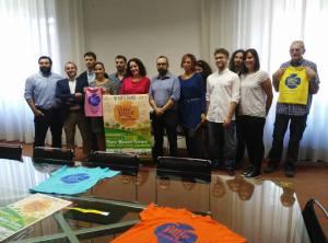 Il vicesindaco Maisto insieme agli organizzatori dell'evento