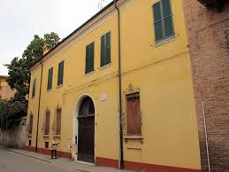 La casa di Giorgio Bassani in via Cisterna del Follo a Ferrara