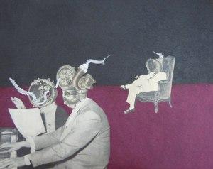 Un'opera di Chiara Sgarbi
