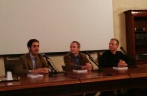 Nella foto, da sinistra: Paolo Noto, Francesco Di Chiara e Alberto Boschi.