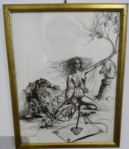 una delle opere in mostra - Copia