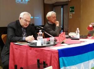 Mons. Luigi Negri e Piero Stefani