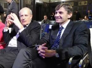Claudio Strinati e Stefano Zanasi
