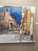 Nicola Nannini, Una notte intorno a Pasqua, stand Galleria d'arte Forni