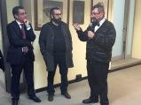 Massimo Alfano, Massimo Maisto e Lucio Scardino (foto di Cristiano Delfini)