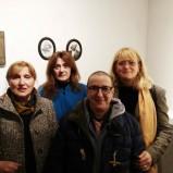 Le quattro artiste protagoniste dell'esposizione