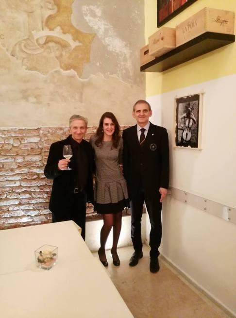 Stefano Bottoni, Martina Rubbi e Valter Lucchini
