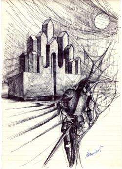 Bruno Vidoni, disegno