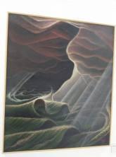 Gerardo Dottori, Tempesta-Mare-Notte, 1936