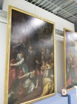 Lo Scarsellino, Nascita della Vergine, 1605