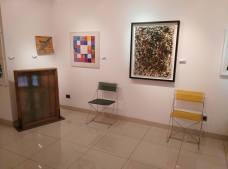 Alcune opere in mostra