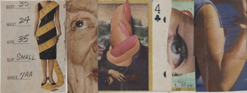 30-C.Cintoli Le misure di Venere 1964 collage cm.22x24,5