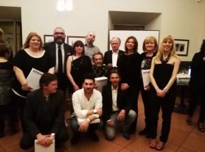I fotografi premiati e gli organizzatori