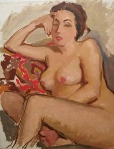 Uno dei 15 nudi di Tassini in mostra
