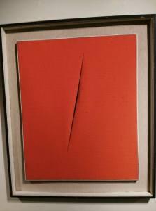 L'opera di Lucio Fontana