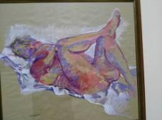 """Andrea Tassini, """"Nudo femminile. La Leda (senza il cigno)"""", 2011"""