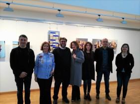 artista, curatori, organizzatori e assessore