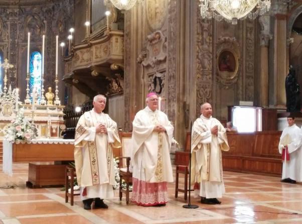 Mons. Perego Assunzione Cattedrale Ferrara