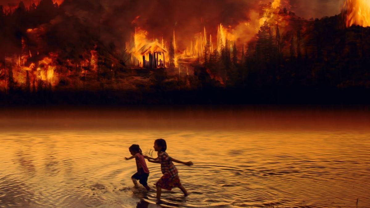 incendi-Amazzonia-bambini