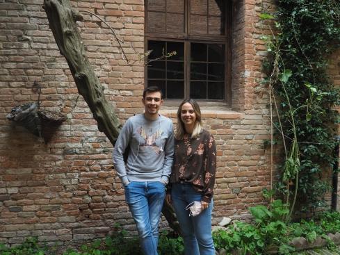 Matteo Tosi e Irene Beltrami (foto di Andrea Musacci)